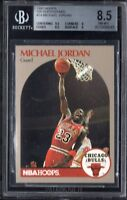 BGS 8.5 w/9.5 MICHAEL JORDAN 1990-1991 Hoops Sears 100 Superstars #14 NM-MINT+