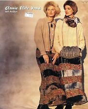 Classic Elite KNITTING PATTERN #469 Stockholm, Sweden - Women Cardigans, Sweater
