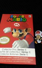 Super Mario Metal Pin Badge Series 1 Toad Official Nintendo Collectable