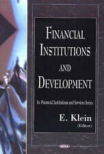 Financial Institutions and Development In: Financial Institutions and Services S