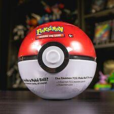 Pokemon TCG Poke Ball Tin 3 Booster Packs (FACTORY SEALED)