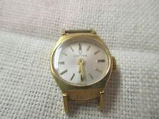 Vintage Swiss Orfina gold plated Ladies Wrist Watch 17 Jewels Runs