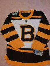 New 2019 Adidas Boston Bruins Jersey Winter Classic Notre Dame Size 50