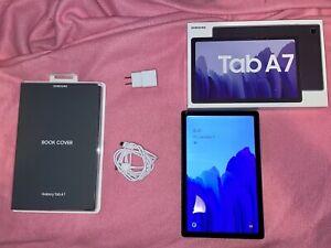 """Samsung Galaxy Tab A7 SM-T500 32GB, Wi-Fi, 10.4"""" - Dark Gray BARELY USED & Extra"""