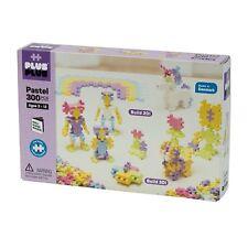 PLUS PLUS 300 Piece PASTEL COLOR Set, Puzzle Piece-Shaped Building Toy
