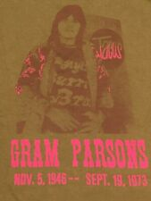 Rare GRAM PARSONS Joshua Tree Inn Tultex Tee T-shirt Cotton Size XXL 2XL