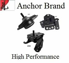 3 PCS Motor & Trans. Mount For 1994-1995 Ford Mustang 3.8L