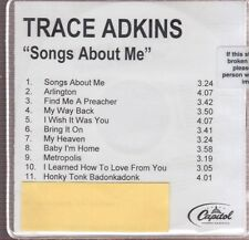 trace adkins songs about me cd limited edition new