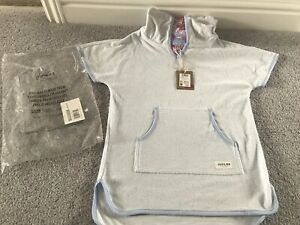 Joules Girls Seashore Hooded Towel, Poncho Swimwear, Age 7-8 Years - Brand New