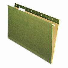 Pendaflex X Ray Hanging File Folders No Tabs Legal Standard Green 25box 4153