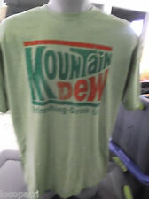 Mens Licensed Mountain Dew Shirt New 2XL
