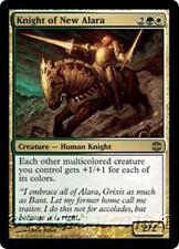 KNIGHT OF NEW ALARA Alara Reborn MTG Gold Creature — Human Knight RARE