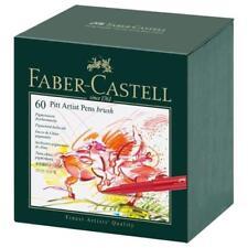 Faber-Castell Indian Ink PITT Artist Pens - 60 Box #167150