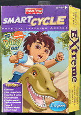 Fisher-Price Smart Cycle Physical Learning Arcade-Dinosaur Learning Game-New