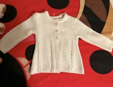 Toddler Girls' White Nursery Rhyme Sweater, Sz 24M, Perfect Condition!