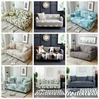 1 2 3 4 Seater Stretch Sofa Cover Lounge Slipcover Elastic Furniture Protector