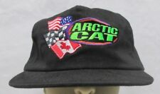 Vintage Arctic Cat Racing Snapback Hat Snowmobile ATV Tall Timber Ashland Wi USA