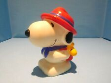 Snoopy/Peanuts Denz PVC Bank - Snoopy dressed a The Beagle Scout Leader