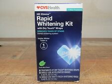 CVS HD Xtreme Rapid Whitening Kit Removes Years of Stains 1-hr Treatment