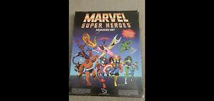 TSR Marvel Super Heroes Advanced Set Original  RPG 1986 Rare