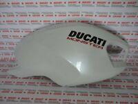 Carénage Réservoir Droite Fairing Right Ducati Monster 696 1100 796 Blanc Arctic