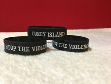 Coney Island Wristbands / Stop The Violence Wristbands