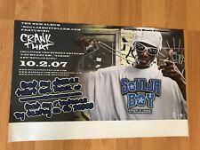 "Rare SOULJA BOY Tell Em 17"" x 11"" Crank That Promo Poster Hip Hop Rap SNL"