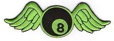 écusson ECUSSON PATCH THERMOCOLLANT BIKER AILES 8 DIM. 8 X 4 CMS