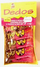 INDY DEDOS 12ct, Spicy & Sour Chili Fingers, Mexican Candy, FREE SHIPPING!!