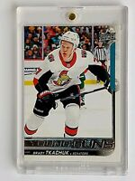 2018-19 Upper Deck Brady Tkachuk Young Guns SP Rookie Card #499*