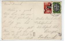 Picture postcard of Boy Scout Jamboree 1937 with stamp and special pmk (C32775)