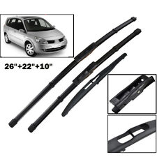Wiper Blades Set For Renault Scenic / Grand Scenic 2005-2009 06 07 Front+ Rear