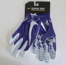Nike VAPOR KNIT Wide Receiver Gloves PURPLE GF0571 547 Adult XXL Fast Ship