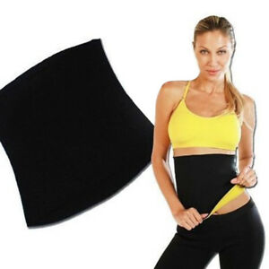 Yoga Slim Fit WAIST TRIMMER TRAINER BELT Weight Loss Burn Fat Body Shaper Girdle