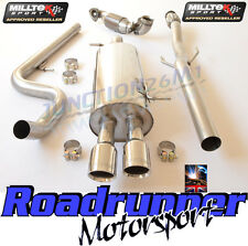 Milltek DS3 1.6 16V DSport Racing Stainless Exhaust System Non Res & Sports Cat