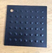 Zing Trivet Black Silicone Resistant Worktop Protector