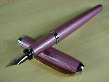 Hero 9300 Fountain Pen Pink Screw Thread Gold Clip