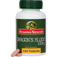 Dragon's Blood 100mg - 100 Tablets (Sangre de Grado) - Peruvian Naturals