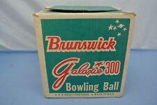 VINTAGE BRUNSWICK GALAXIE 300 BOWLING BALL BOX ONLY