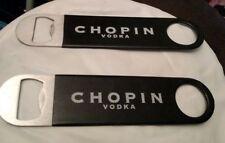 Lot of 2 Chopin Vodka Bottle Opener
