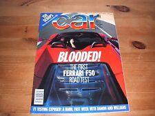CAR MAGAZINE MAR-1996 - Rover 220 SDi, Ferrari F50, Xantia Activa, BMW 320i E36