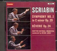 SCRIABIN - Symphony 2 / Reverie - Neeme JARVI / Scottish Orchestra - Chandos