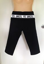 NWT Victoria's Secret Gym Sport Yoga Tight Crop Pant size M White VS Angel (B18)