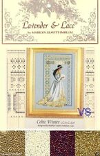 Lavender & Lace Cross Stitch Chart with Mill Hill Bead Set ~ CELTIC WINTER #60