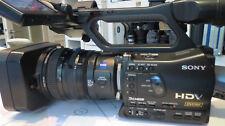 Sony hvr-z7e HDV Camcorder a mano con obiettivo di cambio rivenditori sistema