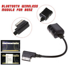 Car Bluetooth Wireless Module For Benz Radio Stereo Aux Cable Adapter MMI Socket