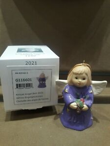 GOEBEL,  2021 ANNUAL ANGEL BELL, COLOR-ULTRA VIOLET, 44TH EDITION, BRAND NEW MIB