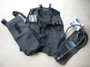 New British Police / Army / Military Camelbak Camelback Water Vest Black Surplus