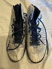 H Drive White & Navy Blue Mens sneakers 12.5