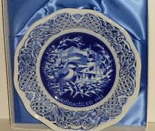 """Schumann Imperial 1982 Christmas Plate , """"Winter Melodie"""""""